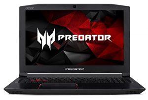 Acer Predator Helios 300 Gaming Ordinateur Portable, Intel Core i7, GeForce GTX 1060, 15.6 FULL HD, 16 Go DDR4, 256 GB SSD with US Keyboard
