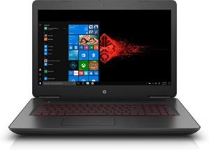HP Omen 17-w248nf PC Portable Gaming 17″ Full HD Noir (Intel Core i5, 6 Go de RAM, 1 to + SSD 128 Go, Nvidia GeForce GTX 1050 4 Go, Windows 10)