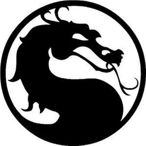 Mortal Kombat 15,2cm Jeu Vidéo en Art Sticker mural Voiture USA en vinyle noir