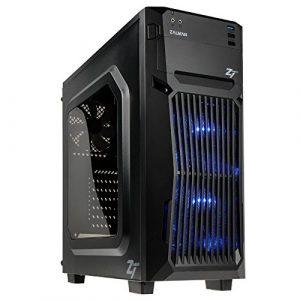 Sedatech PC Gamer Advanced AMD Athlon II 840 4X 3.1Ghz, Geforce GTX 1050Ti, 8 Go RAM DDR3, 240 Go SSD, 1 to HDD, WiFi, HDMI 2.0, sans OS
