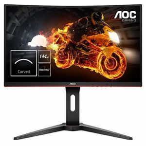 AOC – C24G1 – Ecran PC Gaming- 24″ – 144Hz – 1ms – Freesync – Ajustable en Hauteur – FullHD 1920 x 1080 – Noir