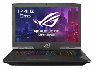 Asus ROG GRIFFIN-GZ755GXR-EV014T PC Portable Gamer 17.3″ FHD Dalle 144Hz (Intel Core i7-9750H, RAM 32Go DDR4, HDD1 1TB5 SS8G + 512G PCIE, Nvidia RTX 2080 8G, Windows 10) Clavier AZERTY Français