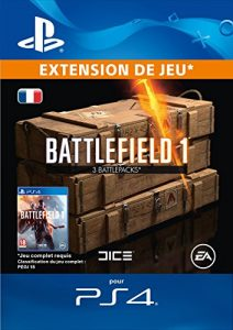 Battlefield 1 Battlepacks x 3 DLC [Code Jeu PS4 – Compte français]