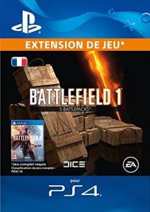 Battlefield 1 Battlepacks x 5 DLC [Code Jeu PS4 – Compte français]