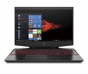 HP OMEN 15-dh0075nf PC Portable Gaming 15,6″ FHD IPS 144Hz Noir (Intel Core i7, RAM 16 Go, SSD 512 Go, NVIDIA GeForce RTX 2070, AZERTY, Windows 10)