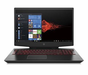 HP OMEN 17-cb0054nf PC Portable Gaming 17,3″ FHD IPS 144Hz Noir (Intel Core i7, RAM 16 Go, 1 To + SSD 512 Go, NVIDIA GeForce RTX 2080, AZERTY, Windows 10)