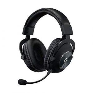 Logitech G, Casque Gaming PRO X (2e Génération) avec BLUE VOICE, DTS Headphone:X 7.1 et Transducteurs PRO-G 50 mm (pour PC, PS4, Switch, Xbox One, VR) – Noir