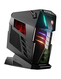 MSI Aegis-Ti3 VR7RE SLI-010EU Unité centrale noir (Intel Core i7, 64 Go de RAM, 2 To, GeForce GTX 1080 Gaming X 2, Windows 10 Home)