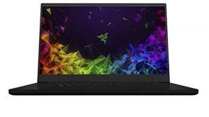 Razer Lame 15 Modèle avancé 2019 à 15,6 Pouces, 240 Hz Full HD Display Thin Bezel – Gaming Notebook – NVIDIA GeForce RTX 2070 Conception Max-Q,
