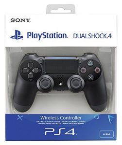 Sony DualShock 4 Manette de Jeu Playstation 4 Noir – Accessoires de Jeux vidéo (Manette de Jeu, Playstation 4, Numérique, D-Pad, avec Fil/sans Fil, Bluetooth/USB)
