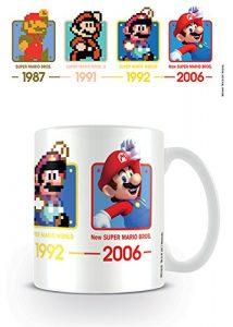 Super Mario MG24640 (Dates) Mug, Céramique, Multicolore, 11oz/315ml