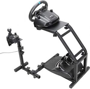 Support Volant Ztopia Racing Simulator pour Les Supports Pro Logitech G29, G27 et G25 Racing Wheel Roue et pédales Non incluses