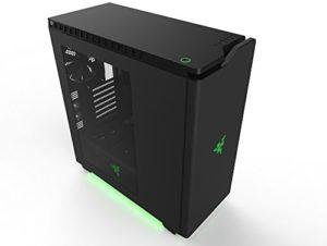 VIBOX Legend 32 PC Gamer Ordinateur avec Jeu Bundle, Win 10, 27″ HD Écran (4,5GHz Intel i7 X 8-Core, 2x Dual SLI Nvidia GeForce GTX 1080 Cartes Graphiques, 32GB DDR4 RAM, 240GB SSD, 3TB HDD)