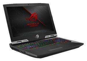 Asus ROG G703VI-GB104T PC portable Gamer 17,3″ UHD Gris (Intel Core i7, 16 Go de RAM, Disque Dur 1 To + SSD 512 Go, Nvidia GeForce GTX 1080 8G, Windows 10) Clavier Français AZERTY