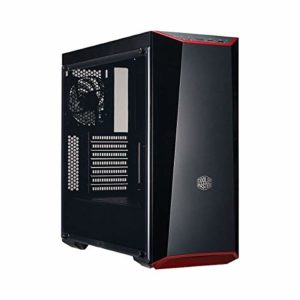 Cooler Master – MasterBox Lite 5 – Boitier PC Gaming (Moyenne Tour ATX, 1xFenetre, Façade DarkMirror) – Noir