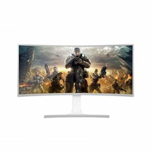 GGPUS 35 Pouces, 4K, 100Hz Courbe Affichage, Affichage Rotatif Ultra Clear, Flash Affichage à l'écran, la résolution 3440 * 1440, DVI, HDMI Interface, DP