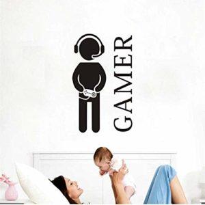 Stickers Muraux Jeux Vidéo Mur Papier Peint En Vinyle Jeux Pour Enfants Décoration