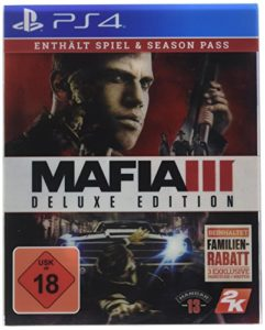 Take 2 Interactive PS4 Mafia III Deluxe Edition