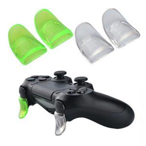 YoRHa L2 & R2 Trigger Button gâchette Bouton Extender x 2 (Vert&Clair) für PS4 / Slim Manette