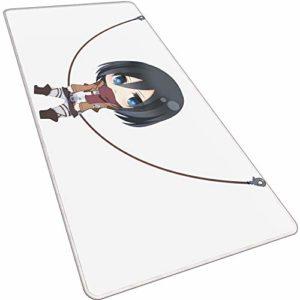 1STSPT Grand Tapis de Souris de Gaming Surface antidérapant spéciale améliore la Vitesse et la précision,pour Ordinateur et Ordinateur Portable Junior Comics-1