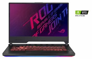 ASUS ROG STRIX3-G-G531GT-AL018T PC Portable Gaming 15.6 » (Intel Core i7-9750H, RAM 16Go DDR4, 512Go PCIe SSD, Nvidia GTX 1650 4Go, Windows 10) Clavier AZERTY Français