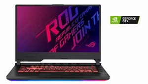 ASUS ROG STRIX3-G-G531GU-AL257T PC Portable Gaming 15.6 » (Intel Core i7-9750H, RAM 16Go DDR4, 1To PCIE SSD, Optimus NVIDIA GeForce GTX 1660Ti 6Go, Windows 10) Clavier AZERTY Français