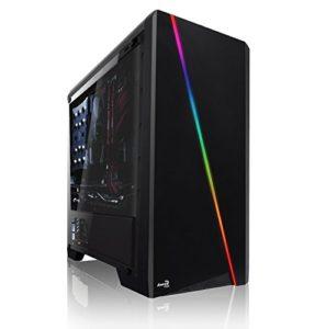 Memory PC Gamer Intel i5-9600KF 6 x 3,7 GHz, 16 Go DDR4 RAM, 240 Go SSD + 1000 Go HDD, NVIDIA GTX 1660 Ti 6 Go