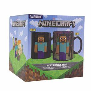 Paladone PP6583MCF Minecraft Enderman Mug à changement de couleur   Parfait pour le café et le thé 325 ml, grès
