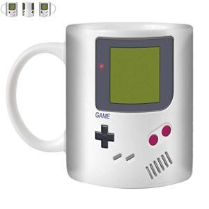 Stuff4 Tasse de Café/Thé 350ml/Game Boy/Console (Jeux vidéo)/Céramique Blanche/ST10