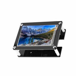 VBESTLIFE 1080P 3.5 Pouces Ecran Tactile d'Affichage HDMI avec Case de Protection Noir, IPS LCD Display pour Rasberry Pi 3B+, 3B, 2B, B+