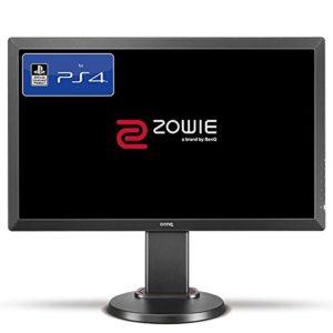 BenQ ZOWIE RL2460 Écran eSports Gaming de 24 pouces pour console – licence officielle PS4/PS4 Pro, Mode face à face, 1ms, Noir Gris