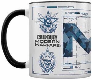 Call of Duty: Modern Warfare (Icons) MGC25560 Call of Duty: Modern Warfare – Mug en céramique 11oz / 315ml (Icons)