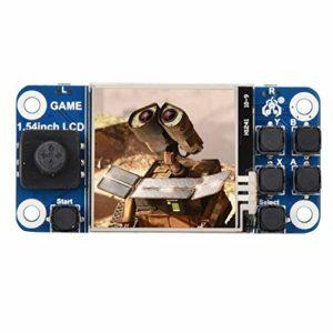 Exliy pour Raspberry Pi Mini Classic Handheld Game Console – Console de Jeu rétro Portable avec écran LCD 1,54 Pouces