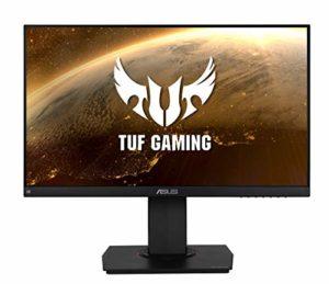 ASUS TUF Gaming VG249Q – Ecran PC Gamer eSport 23,8″ FHD – Dalle IPS – 144Hz – 1ms – 16:9 – 1920×1080 – Display Port, HDMI & VGA – Haut-parleurs – AMD FreeSync – G-Sync – ELMB – HDR 10 – 90% DCI-P3