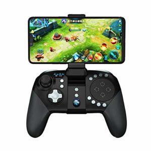 BESISOON Gamepad Professionnelle Clip-on contrôleur de Jeu Gamepad Mobile Joystick Prise de Vue Bouton Téléphone Mobile Tir Controller (Couleur : Noir, Taille : 16x11x7cm)