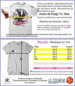 Camisetas La Colmena 1145-Parodie Ghostbusters T-Shirt (Légendaire P,),Noir,L