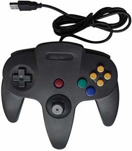 KOIUJ Multi-Couleur Filaire Gamepad contrôleur de Jeu for Le contrôleur Joystick Couleur: Noir