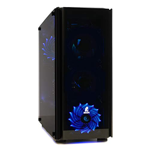Nitropc–PC Gamer Z Mod (CPU Quad-Core i54x 3,80GHz, carte graphique NVIDIA GeForce GTX 10606Go, HDD 1To, RAM 16Go + Windows 10 64bits) i5, 16GB,SSD240,1TB,W10,G1060