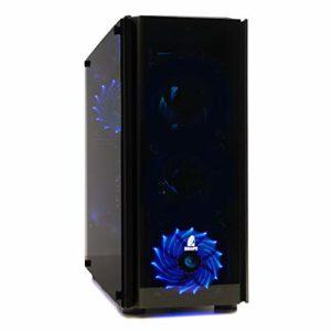 Nitropc–PC Gamer Z Mod (CPU Quad-Core i54x 3,80GHz, carte graphique NVIDIA GeForce GTX 10606Go, HDD 1To, RAM 16Go + Windows 10 64bits) i7, 32GB, 2TB, W10*, GTX1070