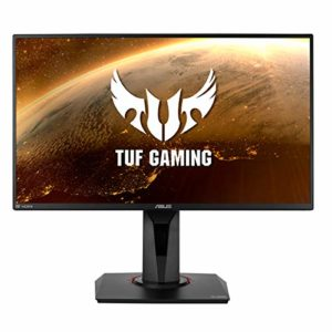 ASUS TUF Gaming VG259Q – Ecran PC Gamer eSport 24,5″ FHD – Dalle IPS – 16:9 – 144Hz – 1ms – 1980×1080 – Display Port et HDMI – Haut-parleurs – AMD FreeSync – Extreme Low Motion Blur