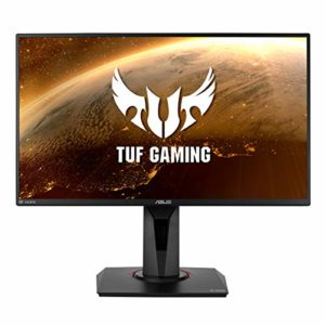 ASUS TUF Gaming VG259QM – Ecran PC Gamer eSport 24,5″ FHD – Dalle IPS – 280Hz – 1ms – 16:9 – 1920×1080 – 400cd/m² – Display Port & 2x HDMI – Nvidia G-Sync – Extreme Low Motion Blur – HDR 400