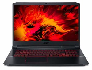 Acer Nitro 5 Gaming Ordinateur Portable Noir/Rouge GeForce GTX 1650 512 GB SSD