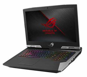 Asus GRIFFIN-GZ755GX-E5004T PC Portable Gamer 17,3″ Gris métal (Intel Core i7, RAM 32 Go, 1 to + SSD 512 Go, Nvidia GTX 2080 8 Go, Windows 10) Clavier AZERTY Français