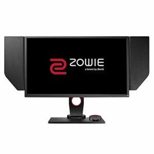 BenQ ZOWIE XL2546 écran eSports Gaming de 24.5 pouces, 240Hz, 1ms, DyAc(tm) , Black eQualizer, Pied réglable en hauteur, Télécommande menu (S Switch), Caches amovibles, Black eQualizer, Noir Gris