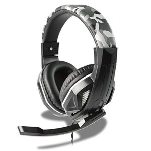 Casque gaming HP42 Steelplay design camouflage avec micro pour PS4