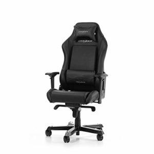 DXRacer (l'original) Iron I11 Chaise de Bureau, Similicuir, Noir, 160-195 cm