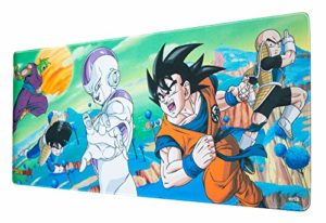 Erik® – Tapis de Souris Gaming XL Dragon Ball Z – Sous-Main Antidérapant – 80 x 35 cm