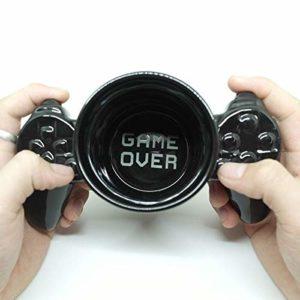 Eurowebb Tasse Manette de Jeux vidéo en céramique Noir Mug
