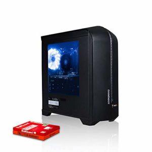 Fierce Ripper Ranger PC Gamer – Vite 4.2GHz Octa-Core AMD FX-8300, 1To Disque Dur, 16Go 1600MHz, NVIDIA GeForce GTX 1050 Ti 4Go, Windows Non Inclus 320205