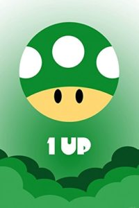 Gaming Papier Peint Photo/Poster Autocollant – Icône One Up (180 x 120 cm)